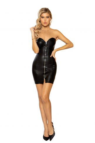3941 Mini Tube Dress with Zipper Closure