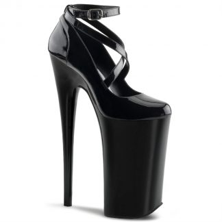 BEYOND-087 Criss-Cross Ankle Strap Pump