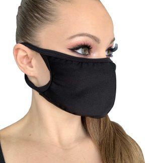 Solid Lycra Face Mask