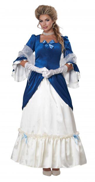 Colonial Era Dress/Martha Washington Adult Costume