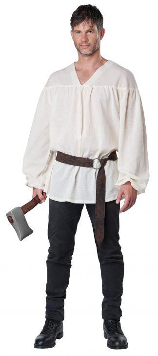 Renaissance Peasant White Shirt Adult Costume