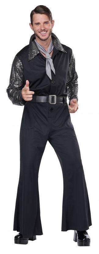 Flashy 70's Style Jumpsuit Adult Costume