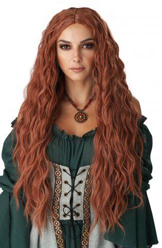 Auburn Renaissance Maiden Wig