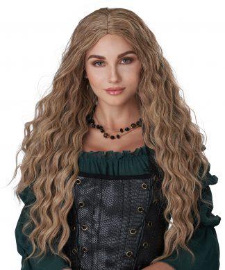 Dirty Blonde Renaissance Maiden Wig