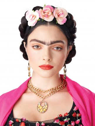 Frida Braid With Clip-In Flowers