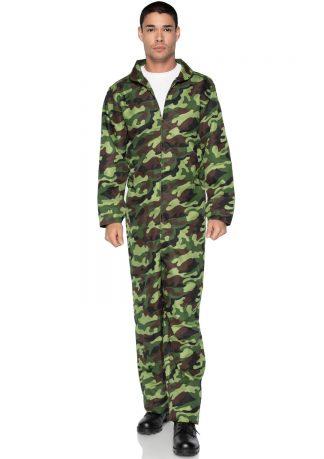 Men's Camo Jumpsuit
