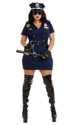 Officer Pat U Down Plus Costume
