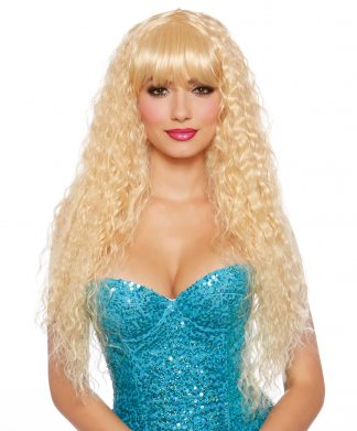 Blonde Extra Long Beach Wave Wig