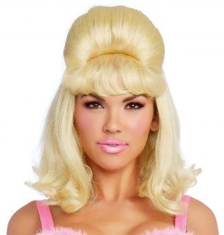 Retro Bouffant Wig