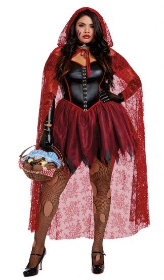 Big Bad Red Plus Costume