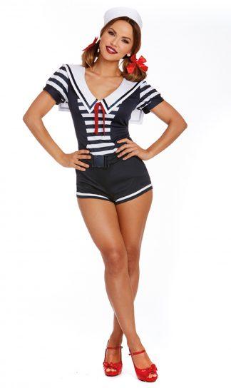 Women's Seaside Sailor Costume