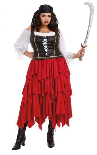 Women's Ships Ahoy Plus Costume