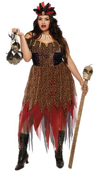 Voodoo Priestess Plus Costume