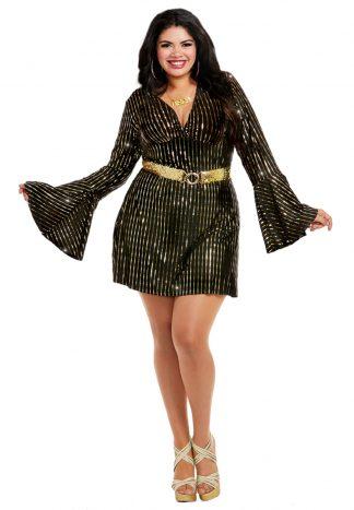 Disco Babe Plus Costume
