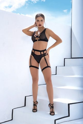 2639 Two Piece Garter Set