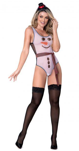 6420 Snowgirl 3PC Lingerie Costume