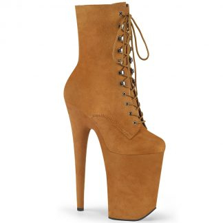 INFINITY-1020FS Lace-Up Front Ankle Boots