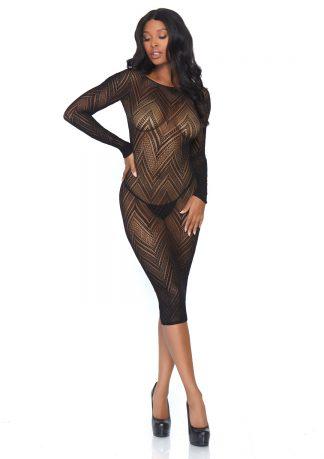 Fishnet Bodycon Dress