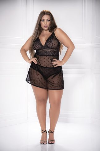 8477X Babydoll with Matching G-String