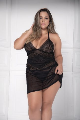8481X Babydoll with Matching G-String