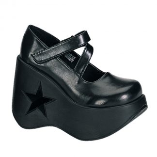 "Demonia DYNAMITE-03 5 1/4"" Star Cut-Out Goth Punk Lolita MJ"