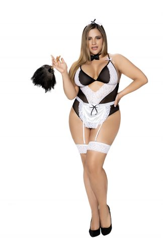 6428X French Maid Sexy Costume