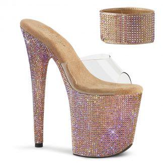 Pleaser BEJEWELED-812RS Heel Sandals