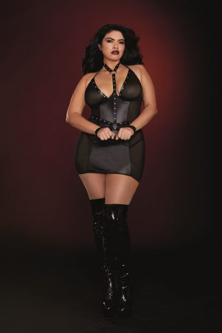 12222X Chemise and Harness With Restraints