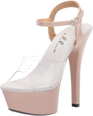 "601-DREAMER 6"" Heel Strappy Sandal"
