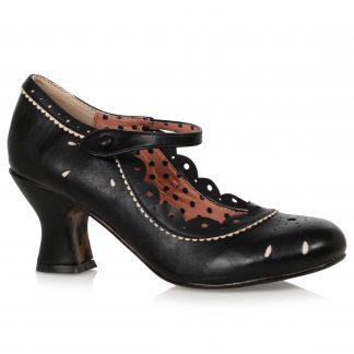 "BP254-JOYCE 2.5"" Heel Shoe with Detail"