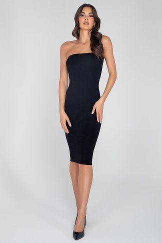 3949 Bandeau Maxi Length Dress