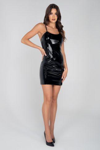 3957 Mini Vinyl Dress