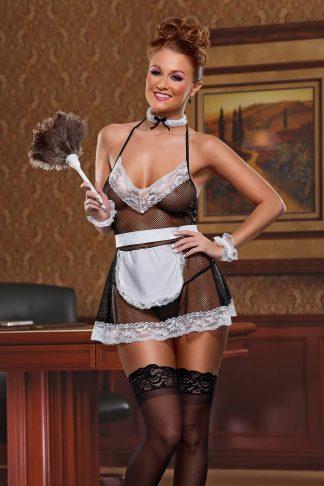C308 Chamber Maid Lingerie Costume
