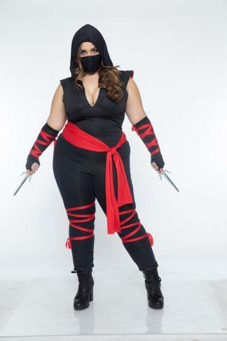 4 PC Deadly Ninja Costume