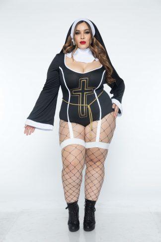 4 PC Sister Sin Costume