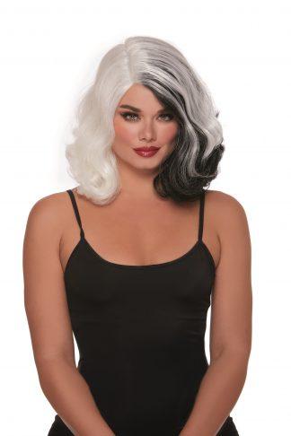 12306 Split Hues Glam Wig