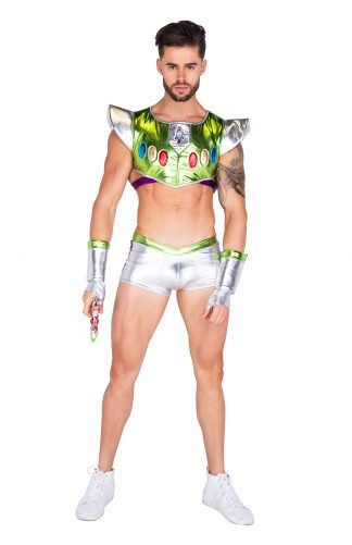 3PC Infinity Space Voyager Men's Costume