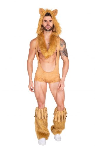 2pc King of the Jungle Lion Costume